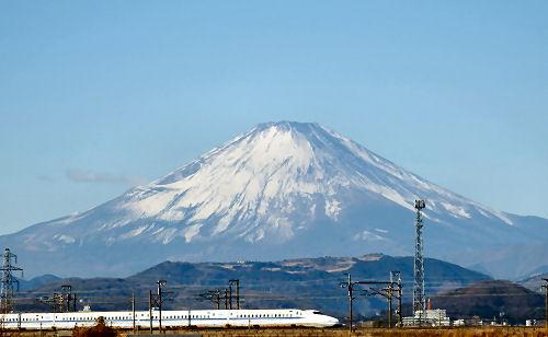 富士山 新幹線