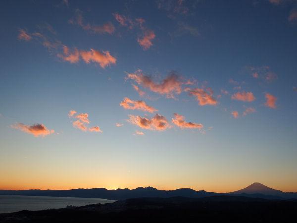 湘南平 富士山 夜景