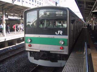 JR205系埼京線色